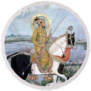 Shah Jahan (1592-1666) Round Beach Towel