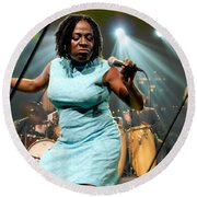 Sharon Jones And The Dap-kings Collection Round Beach Towel