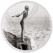 Silent Still: Bather Round Beach Towel