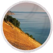 Sleeping Bear Dunes Round Beach Towel
