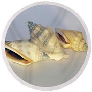 Small Decorations Round Beach Towel