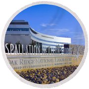 Spallation Neutron Source Round Beach Towel