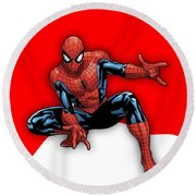 Spiderman Collection Round Beach Towel