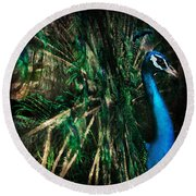 Splendour Round Beach Towel by Andrew Paranavitana
