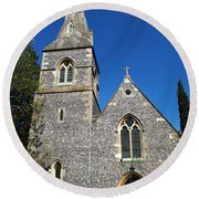 St Peters Marlow Round Beach Towel