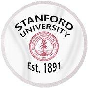 Stanford University Est. 1891 Round Beach Towel