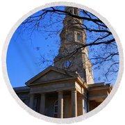St.philips Episcopal Church In Charleston Sc Round Beach Towel