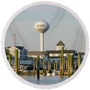 Strathmere New Jersey Round Beach Towel