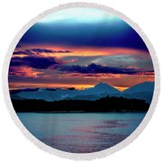 Sunrise Over Uruguay Round Beach Towel