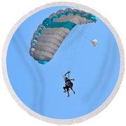 Tandem Paragliding Round Beach Towel
