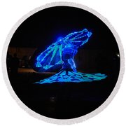 Tanoura Dancer Round Beach Towel