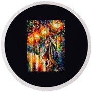 Tempter Round Beach Towel