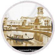 Tennessee Centennial Exposition, Auditorium Building, Lake And G Round Beach Towel