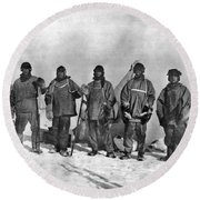 Terra Nova Expedition Round Beach Towel