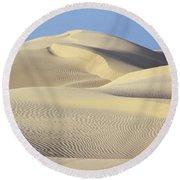 Thar Desert Dunes Round Beach Towel
