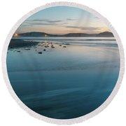 The Blues - Daybreak Seascape Round Beach Towel