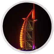 The Burj Al Arab Round Beach Towel