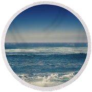 Divine Music Of Love Round Beach Towel