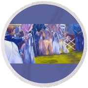 The Girls Round Beach Towel