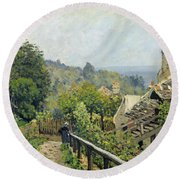 The Heights At Marly Round Beach Towel