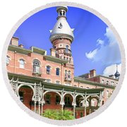The Henry B. Plant Museum Tampa Fl Round Beach Towel