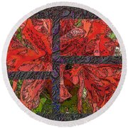 The Rhody 04 Round Beach Towel