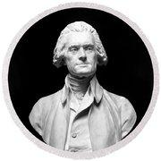 Thomas Jefferson (1743-1826) Round Beach Towel