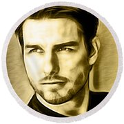 Tom Cruise Collection Round Beach Towel