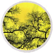 Tree Fantasy 18 Round Beach Towel