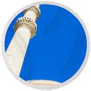 Turkish Mosque Round Beach Towel