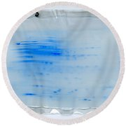 Two Dimensional Electrophoresis Round Beach Towel