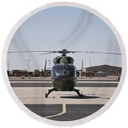 Uh-72 Lakota Helicopter At Pinal Round Beach Towel