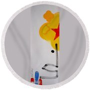 UN Round Beach Towel