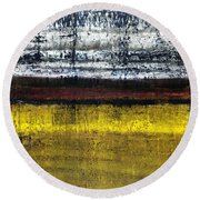 Untitled No. 18 Round Beach Towel