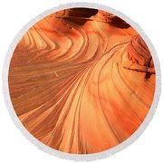 Vermilion Cliffs Dragon Round Beach Towel