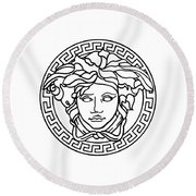 Versace Round Beach Towel