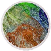 W 045 Round Beach Towel