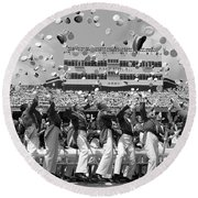 West Point Graduation Round Beach Towel