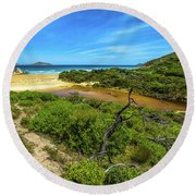 Wilsons Promontory National Park Round Beach Towel