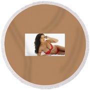 Xyz Collagen Cream Round Beach Towel