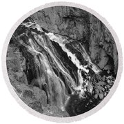 Yellowstone 19 Round Beach Towel