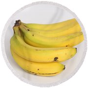 Banana Ripening Sequence Round Beach Towel