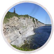 Forillon National Park Round Beach Towel