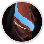 Lower Antelope Canyon Navajo Tribal Park #11 Round Beach Towel