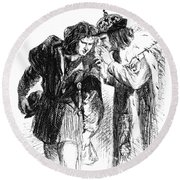 Shakespeare: Richard IIi Round Beach Towel