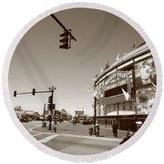 Wrigley Field - Chicago Cubs Round Beach Towel