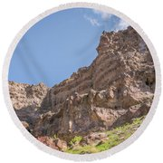10902 Owyhee River Canyon Round Beach Towel