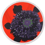 11-11 Lest We Forget Round Beach Towel