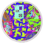 11-15-2015abcd Round Beach Towel