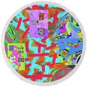 11-15-2015abcdefghijklmnopqrtuvwxyzabcd Round Beach Towel